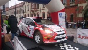 Eyvind sin Ford Fiesta RRC